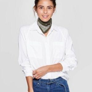 Women's Long Sleeve Boyfriend Shirt - Universal Th